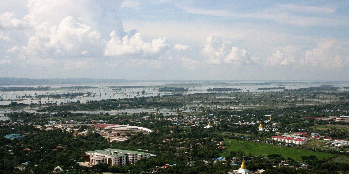 grensovergangen Myanmar