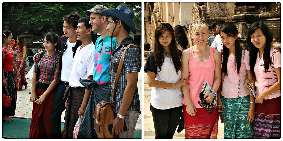 Kleding Myanmar