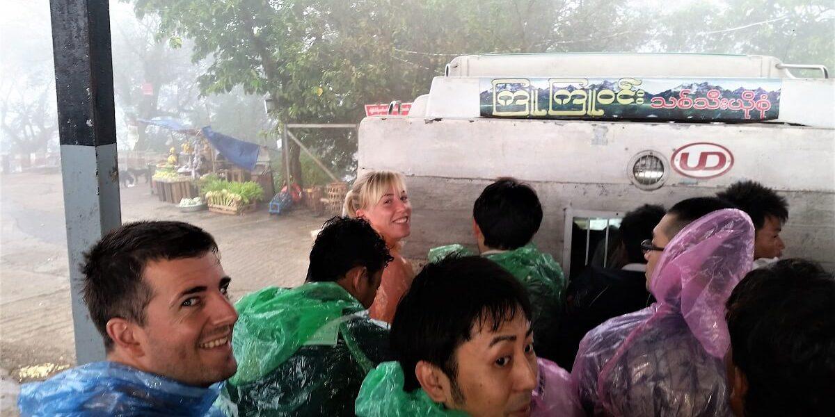 Thailand naar Myanmar